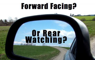 Are you Forward Facing or Rear Watching in your relationship?  Your marriage is saved by going TOWARD what you want!