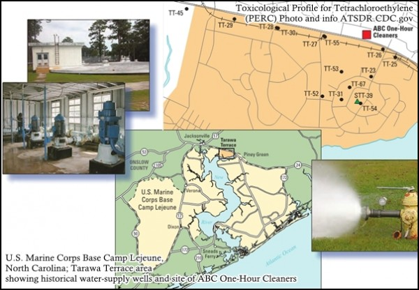 News camp lejeune water contamination news effects of for Tarawa terrace 2
