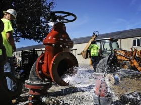 Toxic chemicals increase in Census Bureau water