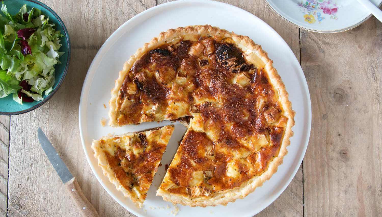 quiche-brie-zongedroogde-tomatenlow