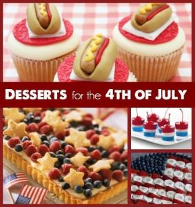 Desserts for the 4th of July Square