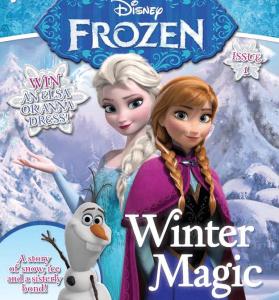 Disney Frozen Magazine deal