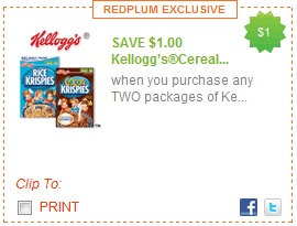Kellogg Coupon - Savings Lifestyle