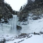 Taughannock Falls in the Winter