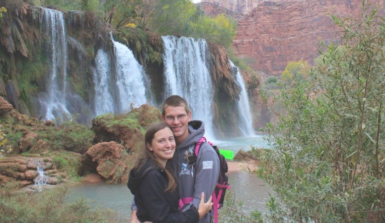 A Romantic Supai Proposal