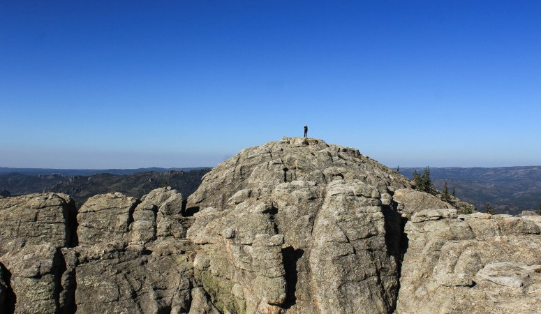 Hiking Black Elk Peak