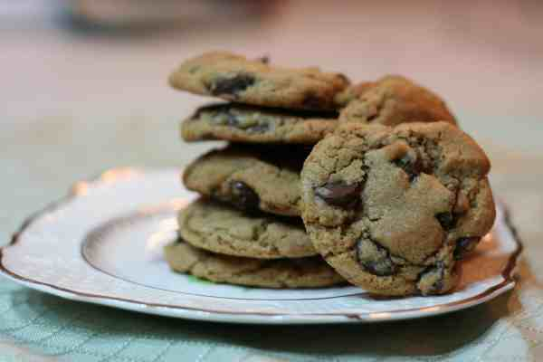 Whole Wheat Chocolate Chip Cookies with King Arthur White Whole Wheat Flour