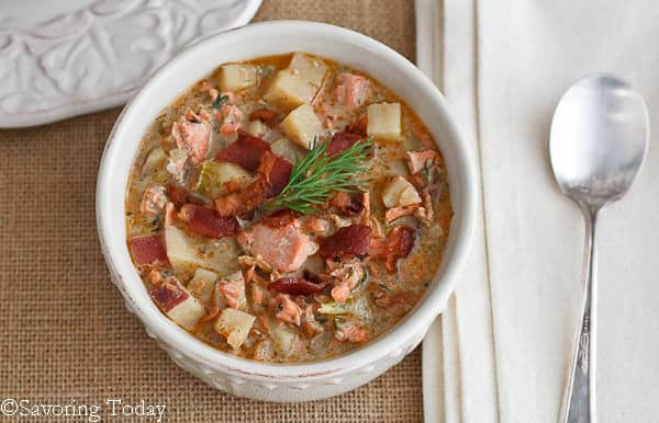 Salmon Dill Chowder | Savoring Today (1 of 1)
