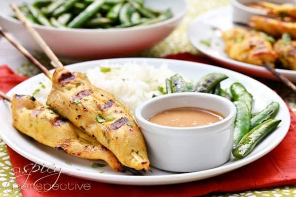 Super Bowl -- Thai Chicken Satay