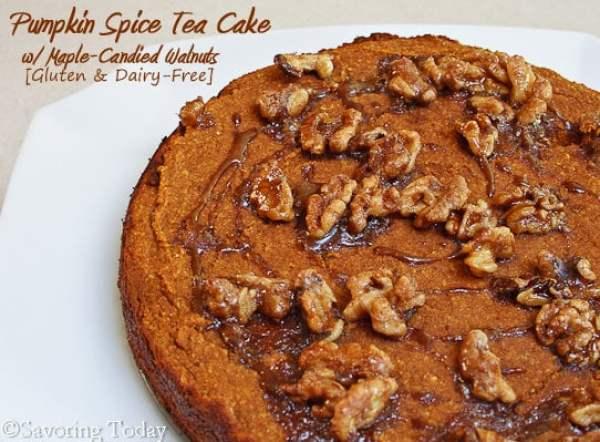 Pumpkin Tea Cake | Savoring Today