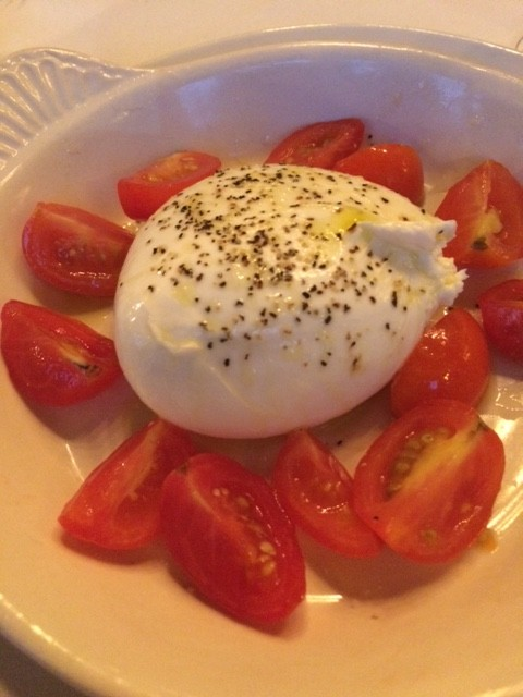 Black Truffle Burrata