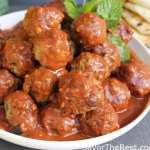 Moroccan Lamb Meatballs in Spicy Tomato Sauce