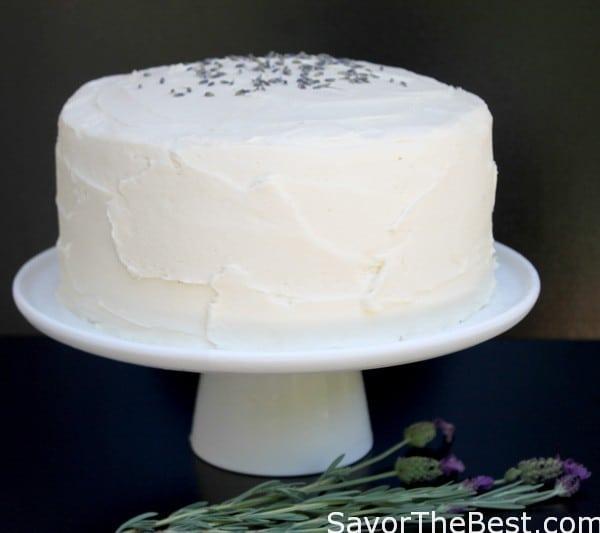 Lavendar-Cake