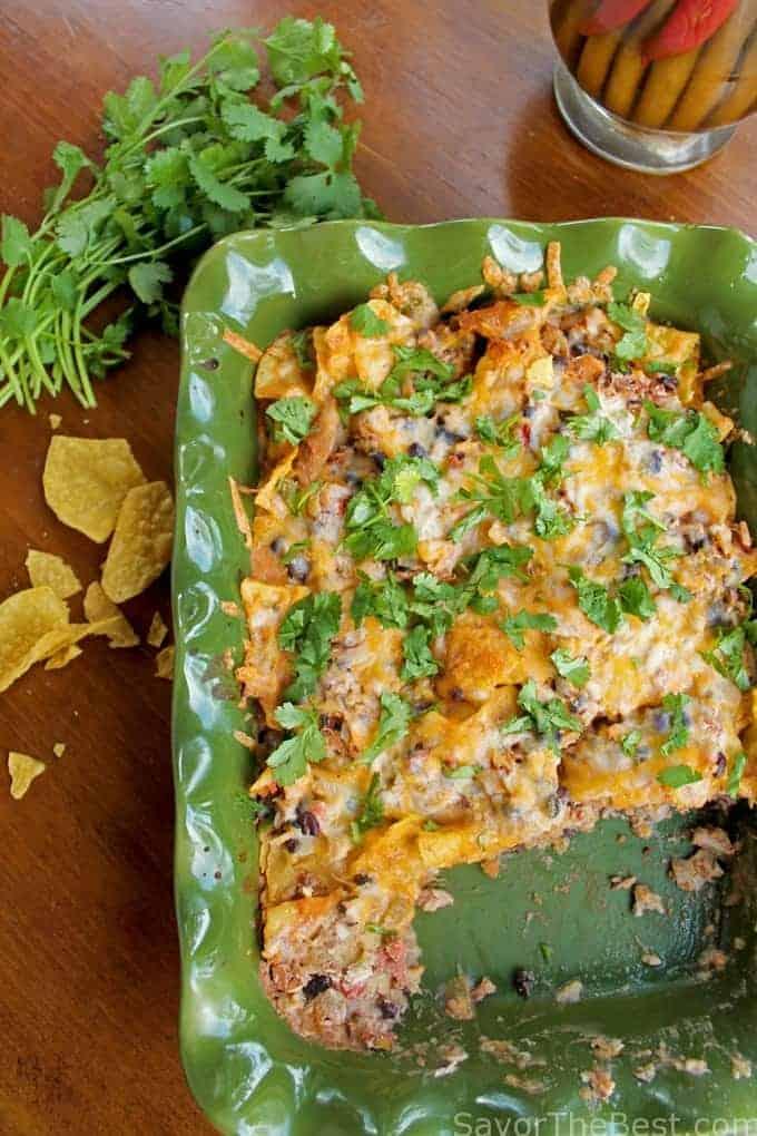Chicken Tortilla Chip Casserole