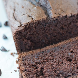 This Easy and Super Moist Sour Cream Chocolate Bread that reminds me of a cakey type brownie! I could just eat this forever!