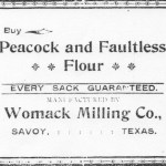 Womack Milling Co Ad