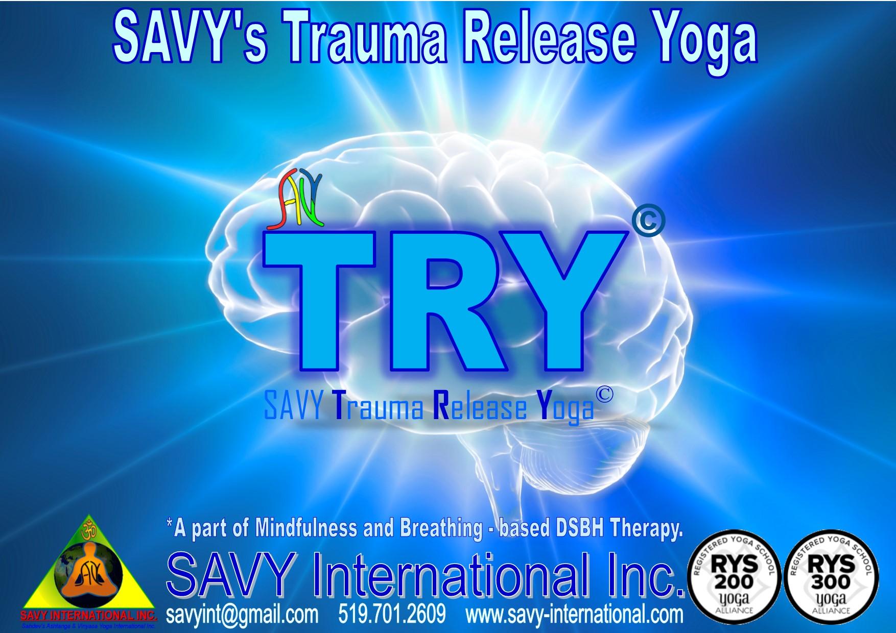 SAVY Trauma Release Yoga - Learn 7 Exercises