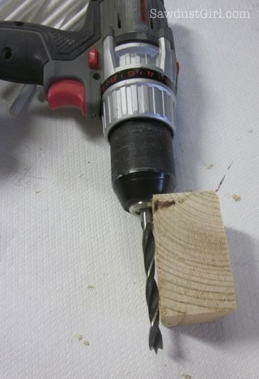 stop block drilling guide