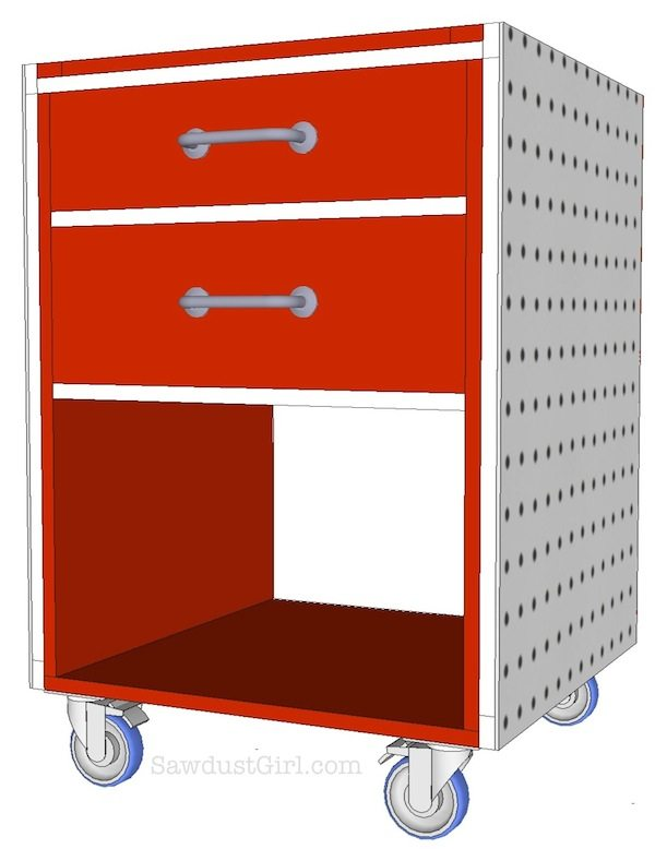 FREE GARAGE CABINETS PLANS woodworking plans and information at ...