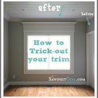 How to trick out your trim molding in 5 easy steps