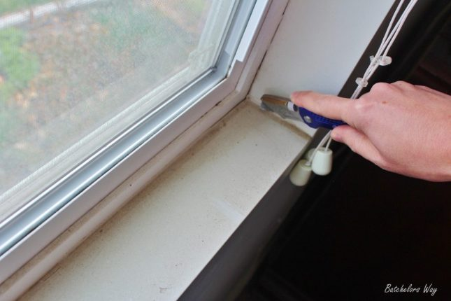 How To Install A Window Sill And Trim Sawdust Girl