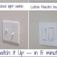 change out ugly light switch
