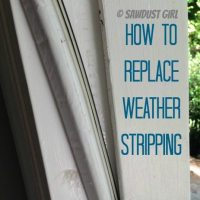 how to replace weather stripping