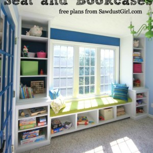 Built-in-window-seat-bookcases-free-plans-sawdustgirl