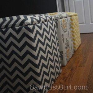 Plans for Upholstered Storage Bench