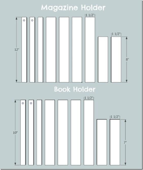 book holder cut list