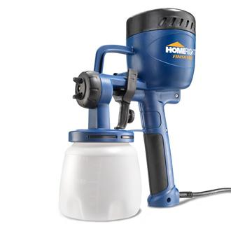 Small paint sprayer that packs a punch