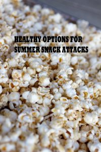 Healthy Options to the Snack Attack