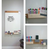 DIY Whiteboard #fun #quirky #easy #cheap
