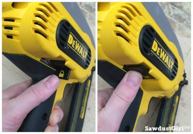 DeWalt_nail_gun_battery_powered_safety_lock