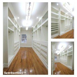 Master Closet plans