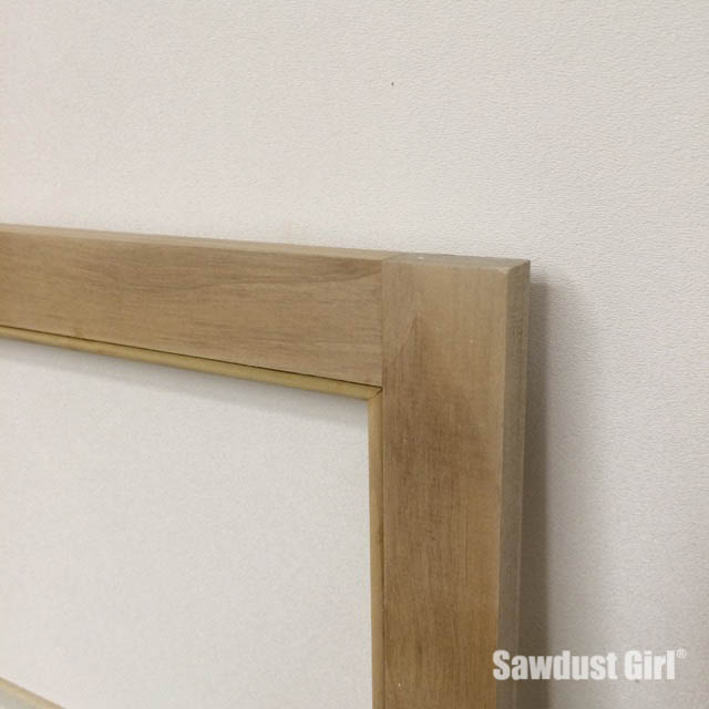 5 measure and miter each piece, install with glue and small 23 gauge pin nails-4