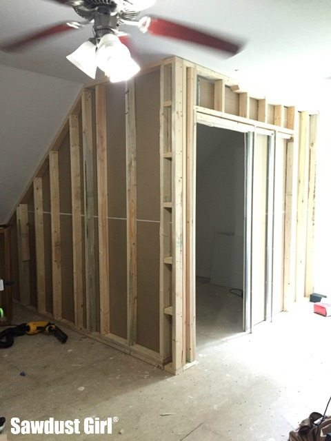 Pocket Door Frame Installation : How to install a pocket door frame sawdust girl