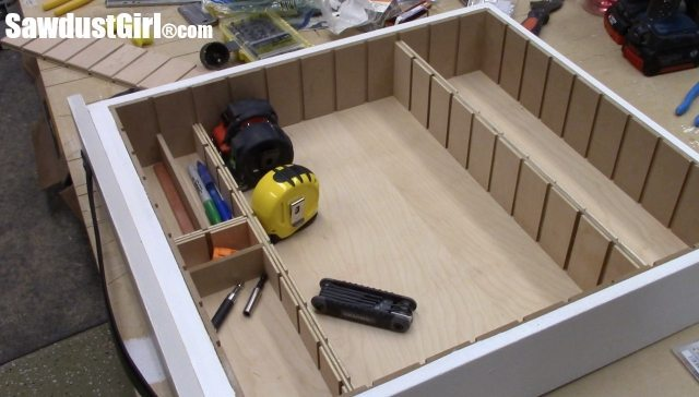 Drawer divider organizer.