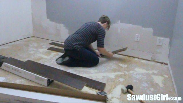 Installing Pergo Laminate Flooring