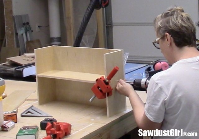Build organized storage drawers for the workshop.