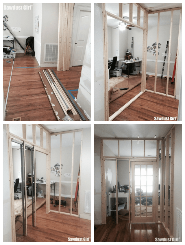 Framing pocket door