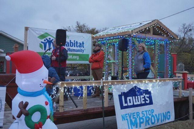 1000 homes with Lowe's and Habitat for Humanity