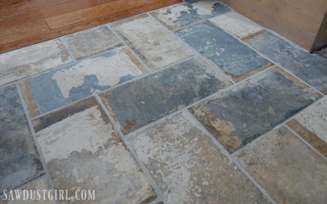 How To Install Tile Flush With Hardwood Floors Sawdust Girl 174