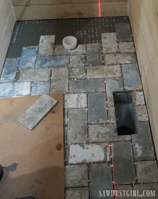 How to Install Tile Flush with Hardwood Floor