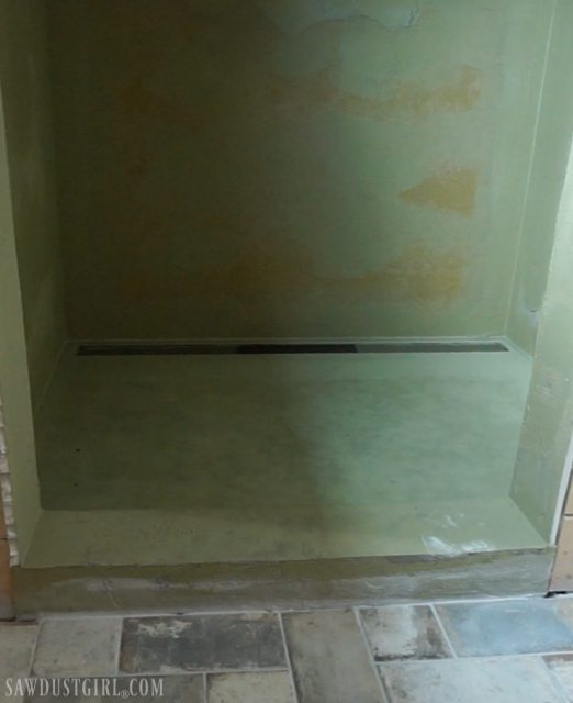 Installing Preformed Shower Pan - Tile Ready
