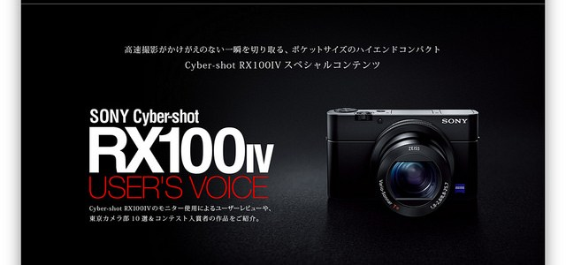 RX100IV USER'S VOICE と 大空ヒコーキ写真館 で紹介していただきました