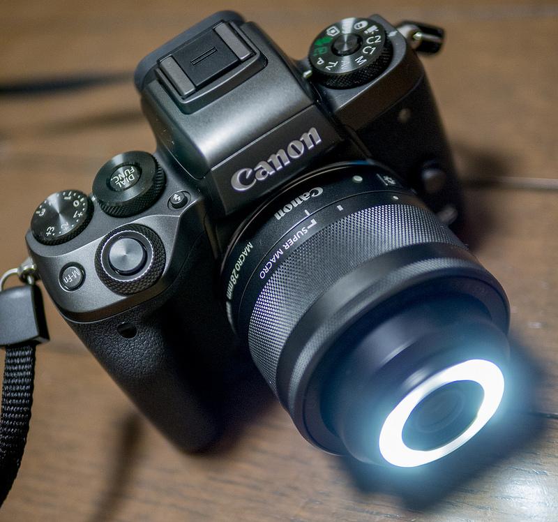 11月下旬発売予定のCANON EOS M5をお借りしました