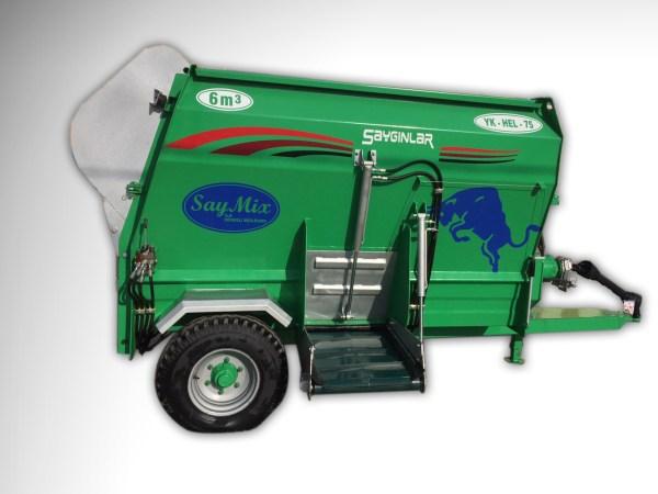 Feed Mixer Tmr Wagons 6m3
