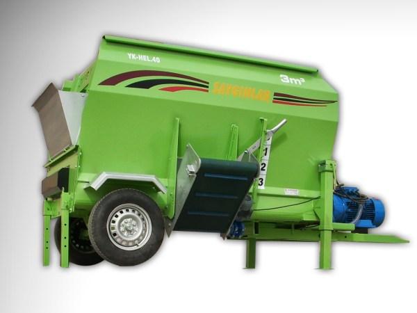 Feed Mixer Tmr Wagon 3m3 Electric Powered