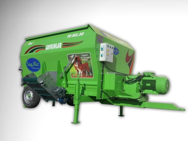 Feed Mixer Tmr Wagon 4m3 Electric Powered